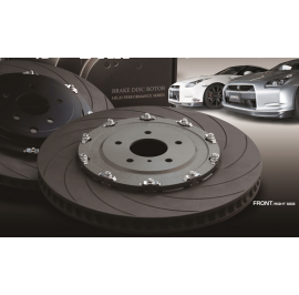 Nissan GTR R35 DIXCEL FRONT 400MM BIG ROTOR UPGRADE ASSEMBLY - PAIR-