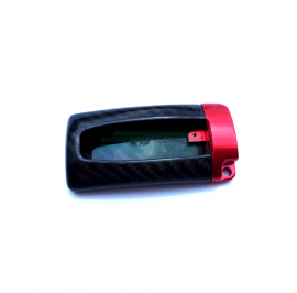 Carbon Fibre Nissan Key Case (Red)