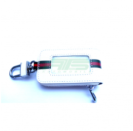 Designer Key Case (White)