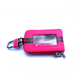 Designer Key Case (Pink)