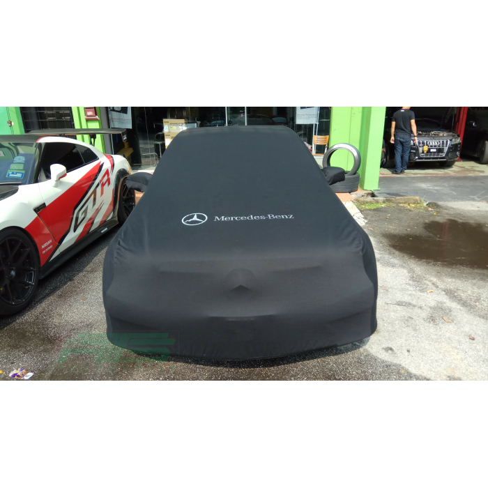 for benz slc coupe mercedes green satin car cover