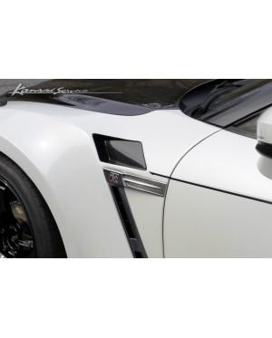Kansai Service Wide Front Fenders Nissan GTR R35