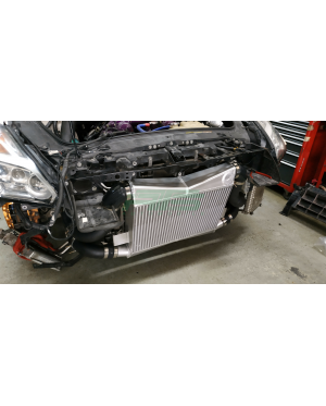 Sheepey Built - Nissan GTR R35 Race Intercooler & Piping Kit