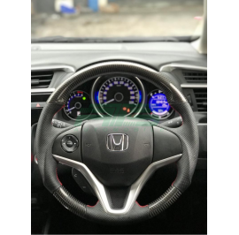 Carbon Fiber Steering Wheel Honda Jazz GK