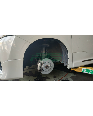 DIXCEL SD Front Brake Rotor Set Toyota Vellfire Alphard Estima