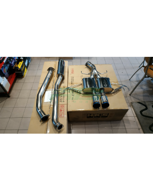 HKS LEGAMAX PREMIUM Exhaust Honda Civic Type R FK8