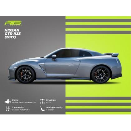 2017 Nissan GT-R R35 3.8 Black Edition Unregistered