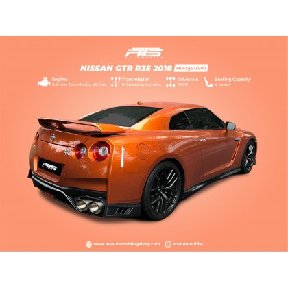 2018 Nissan GT-R R35 3.8 Prestige UK Spec Unregistered