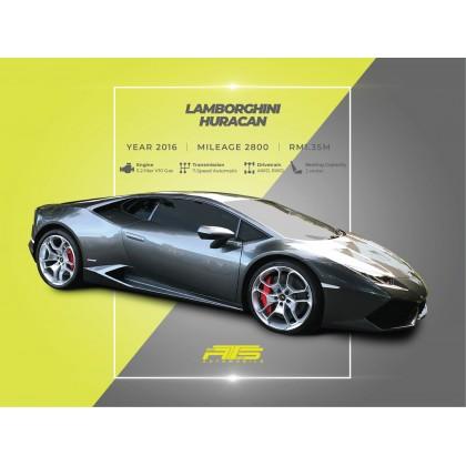 2016 Lamborghini HURACAN 5.2 LP 610-4 (A) Unregistered